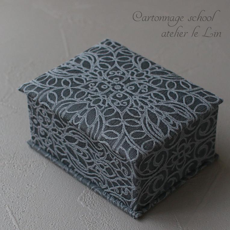 カルトナージュ作品 フレンチスタイル 刺繍